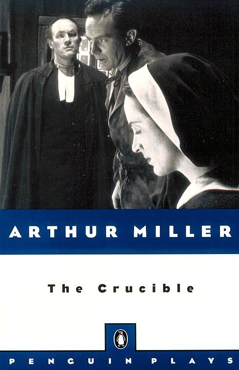 double standards in the play the crucible by arthur miller Welcome to honors sophomore english,  we have chosen the crucible, by arthur miller, a play about the 1692 salem  underline and double space between each part.